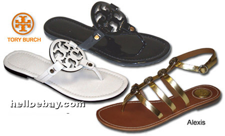 2ab96ce234bf54 Aren t these Tory Burch Flip Flops Logo Slippers perfect for summer! This  metallic patent leather Reva flat is so fabulous-if you ask me!